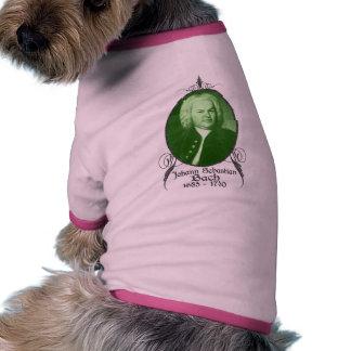 Johann Sebastian Bach Dog Shirt