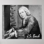 Johann Sebastian Bach Fine Art Poster