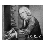 Johann Sebastian Bach Fine Art Print