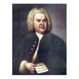 ¿Johann Sebastian Bach im Jahre 1746, mit R? tselk Postales