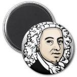 Johann Sebastian Bach Imán Redondo 5 Cm
