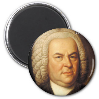Johann Sebastian Bach Items Magnets