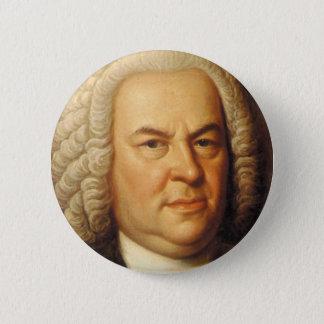 Johann Sebastian Bach Items Pinback Button