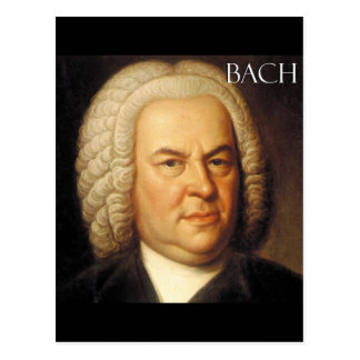 Johann Sebastian Bach Items Post Card