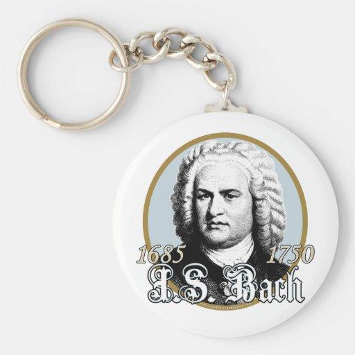 Johann Sebastian Bach Key Chain