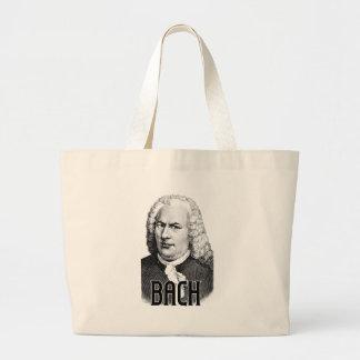Johann Sebastian Bach Large Tote Bag
