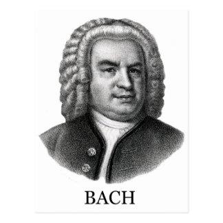Johann Sebastian Bach, negro Postales