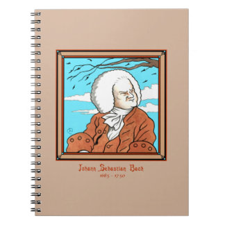 """Johann Sebastian Bach"" Notebook"