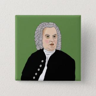 Johann Sebastian Bach Pinback Button