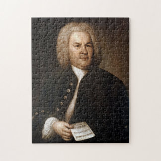 Johann Sebastian Bach Portrait Jigsaw Puzzle