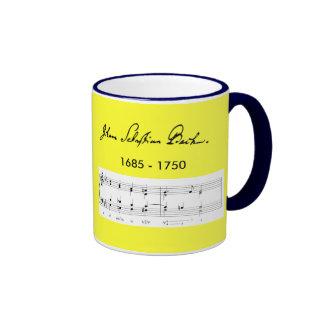Johann Sebastian Bach* Portrait Mug
