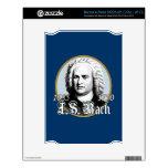 Johann Sebastian Bach Skin For The NOOK