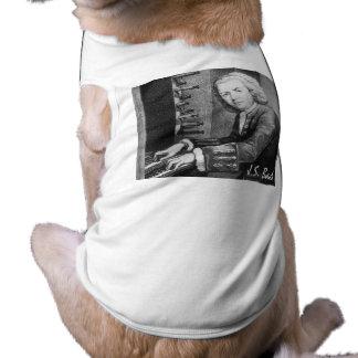 Johann Sebastian Bach Stuff Dog T-shirt