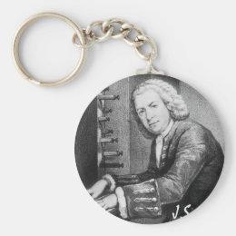 Johann Sebastian Bach Stuff Keychain