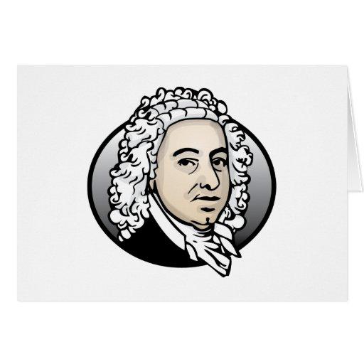 Johann Sebastian Bach Tarjeta De Felicitación