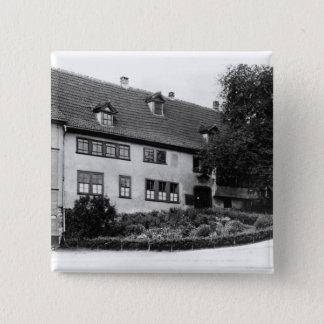 Johann Sebastian Bach's  house Pinback Button