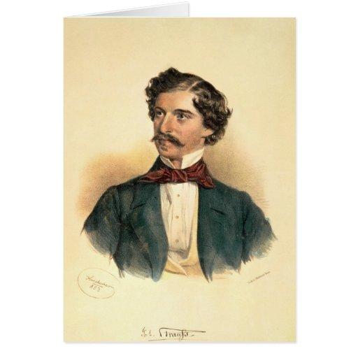 Johann Strauss the Elder Card