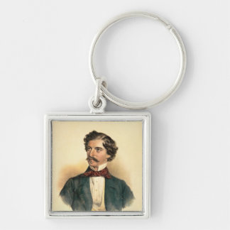 Johann Strauss the Elder Keychain
