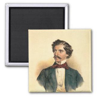 Johann Strauss the Elder Refrigerator Magnets