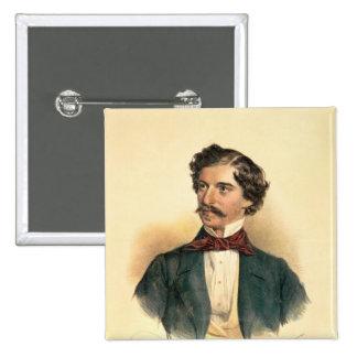 Johann Strauss the Elder Pinback Button
