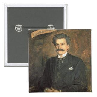 Johann Strauss the Younger, 1895 Button