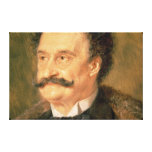 Johann Strauss the Younger, 1895 Canvas Print