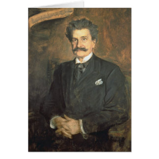 Johann Strauss the Younger, 1895 Greeting Cards