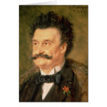 Johann Strauss the Younger, 1895 Card