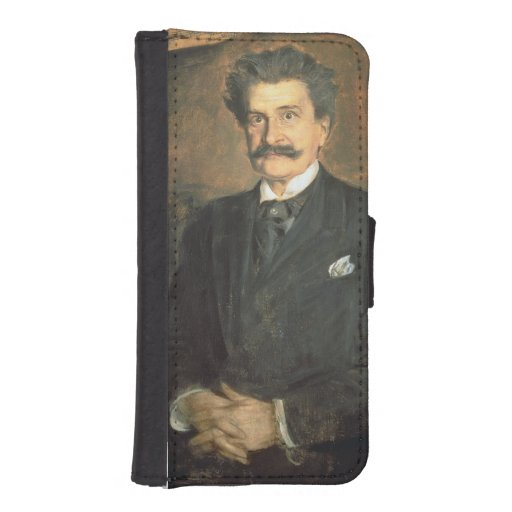Johann Strauss the Younger, 1895 Phone Wallet Case