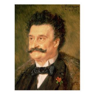 Johann Strauss the Younger, 1895 Postcard