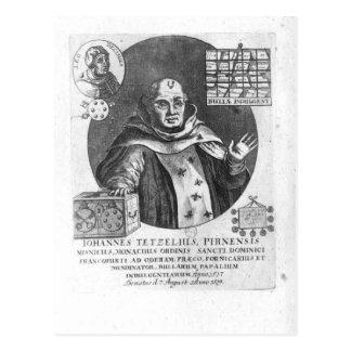 Johann Tetzel Postcard