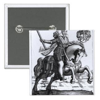 Johann Tserclaes, Graf von Tilly Button