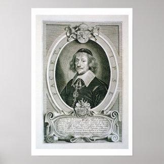 Johann van Knuyt (1587-1654) from 'Portraits des H Poster