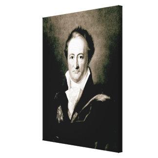 Johann Wolfgang Goethe Canvas Print