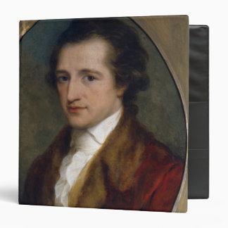 Johann Wolfgang von Goethe, 1775 3 Ring Binder