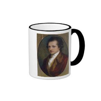 Johann Wolfgang von Goethe, 1775 Ringer Coffee Mug