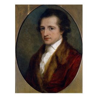 Johann Wolfgang von Goethe, 1775 Postal