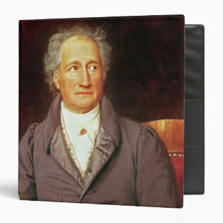 Johann Wolfgang von Goethe  1828 3 Ring Binder