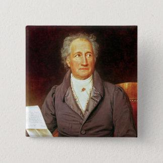 Johann Wolfgang von Goethe  1828 Button