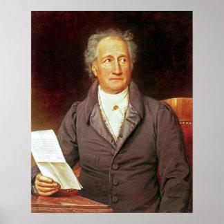Johann Wolfgang von Goethe 1828 Impresiones
