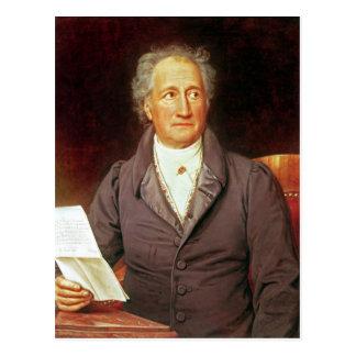 Johann Wolfgang von Goethe  1828 Postcard