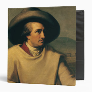 Johann Wolfgang von Goethe 3 Ring Binder