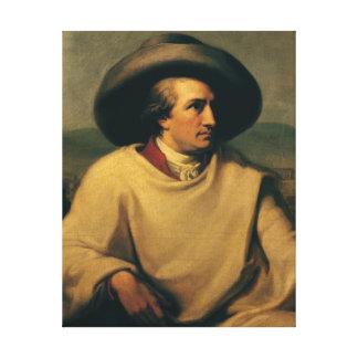 Johann Wolfgang von Goethe Canvas Print