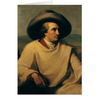 Johann Wolfgang von Goethe Card