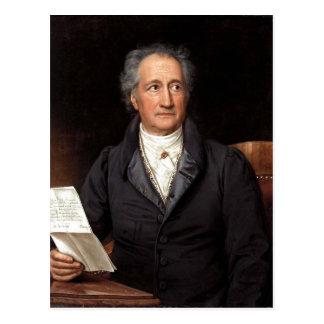 Johann Wolfgang von Goethe im 70. Lebensjahr, gema Postcard