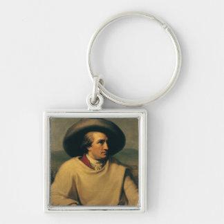 Johann Wolfgang von Goethe Keychain