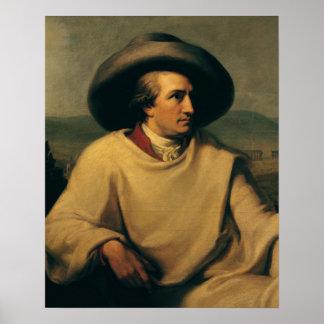 Johann Wolfgang von Goethe Póster