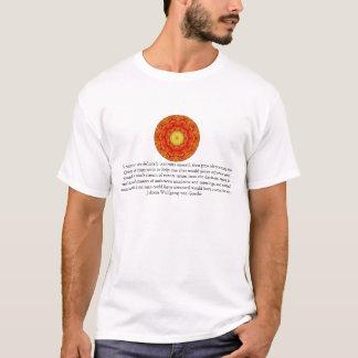 Johann Wolfgang von Goethe QUOTATION T-Shirt