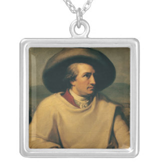 Johann Wolfgang von Goethe Silver Plated Necklace
