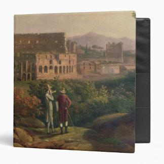 Johann Wolfgang von Goethe  visiting the Binder
